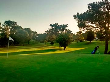 El Villa gesell Golf Club y su elegante e impecable cancha
